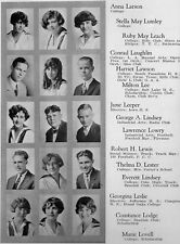 1926 Long Beach CA High School Yearbook~Photos~History~Football~Drama~++++