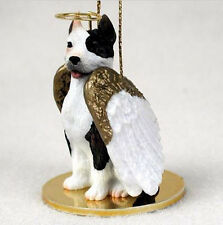 PIT BULL TERRIER  (BRINDLE) ANGEL DOG CHRISTMAS ORNAMENT HOLIDAY Figurine