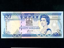 Fiji Islands:P-95a,20 Dollars,1992 * Queen Elizabeth II * UNC *
