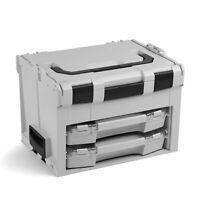 LS BOXX 306 grau Bosch Sortimo L BOXX Werkzeugkoffer mit 2x iBOXX 72 + ISB H3 I3