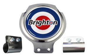 Scooter Bar Badge - Brighton MOD Target  - FREE BRACKET & FIXINGS