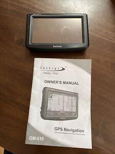 Initial GM-510 Portable GPS Navigator Incomplete