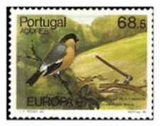 Timbre Oiseaux Europa Portugal 365 ** lot 25519