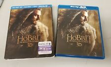 The Hobbit Desolation Of Smaug ( Bluray 3D+Bluray+DVD+Digital HD) + Lenticular