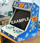 Table or Bartop Arcade Cabinet - Machine Cut - Flat Pack - T MOLDING SLOT