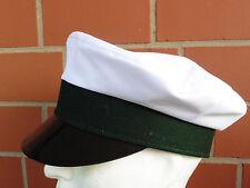 Schützenmütze, Uniformmütze, Spielmannszugmütze, grün/weiß Gr. 61