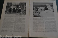 1917 magazine articles x4, The RED CROSS, home front USA, Belgium, France WWI