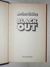 BLACK OUT Arthur Hailey CDE 1980  libro romanzo narrativa racconto storia di