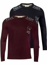 Brave Soul Crew Neck Regular Jumpers & Cardigans for Men