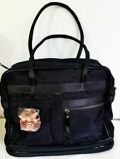Mimco NAUGHTY Weekender TURNLOCK Baby Travel Shopper Hand Bag Black BNWT
