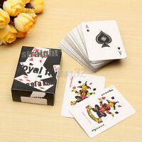 Small Mini Miniature Travel Pocket Playing Poker Cards Deck Tiny Little 3.5X5CM