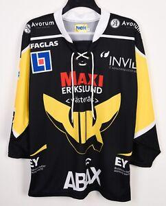 VIK Vasteras HK Ice Hockey Shirt Jersey Men M Allsvenskan Sverige Sweden Top Kit