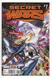 Secret Wars #7 Marvel Comics 2015 VF+