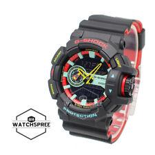 Casio G-Shock Breezy Rasta Color Watch GA400CM-1A
