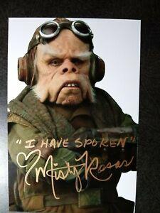 MISTY ROSAS As KUIIL Authentic Hand Signed Autograph 4X6 PHOTO - THE MANDALORIAN