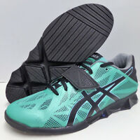 Asics Lift Master Lite Weight Training Lifting Womens Shoes Teal/Black/Silver