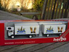 Herpa 806056 MB Mercedes Roadtrain Bavaria Beer Eder Truck Boxed