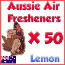 AIR FRESHENER Lemon Car or home office X 50