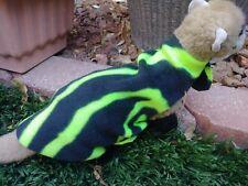 Ferret Snuggie - Neon Green Zebra Stripe - M