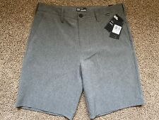 $60 BRAND NEW HURLEY PHANTOM MENS WALKING SHORTS DARK GRAY 31 or 33 x 20
