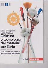 Chimica e tecnologia dei materiali per l'arte di Carlo Quaglierini - 2012