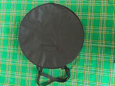 "18"" Bodhran Irish Drum Cover / Case / Bag New -  Black"