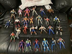 Lot of 26 Loose Toy Biz Marvel Figures