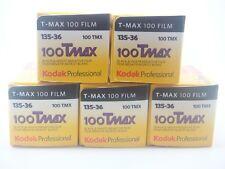 5 x KODAK TMAX 100 35mm 36 Exp CHEAP BLACK & WHITE FILM By 1st CLASS ROYAL MAIL