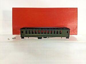 HON3 BRASS MODEL TRAIN - S. SOHO & CO D&RGW #319 PASSENGER COACH NIB
