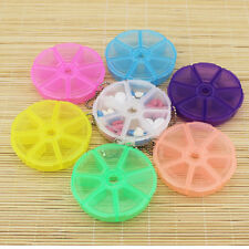 Portable 7-Day Round Medicine Pill Vitamin Box Case Storage Dispenser Organizer