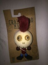 Crazy Head Magnet Punk Rubber Wood Collectible Magnet Many Available!