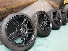 """Refurbished, Genuine Mercedes C Class W204 AMG 18"""" Staggared Alloy Wheels"""