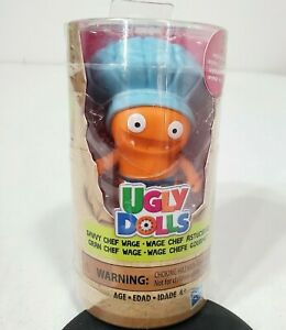 Hasbro Ugly Dolls Savvy Chef Wage Blue Hat Collectible Figures Brand New Sealed