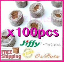 30mm Jiffy 7C Pellets Round - Perfect Substrate for Propagation & Seedling
