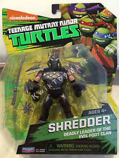 Teenage Mutant Ninja Turtles TMNT SHREDDER Figure Nickelodeon RARE