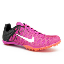 New Nike Zoom Maxcat 4 Track & Field Spikes Sprint Racing Shoes Pink - Mens 11