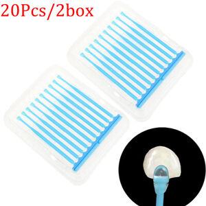 20* Dental Disposable Adhesive Tip Applicator for Tooth Crown Porcelain VeneDAP