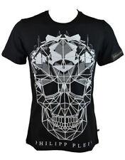 Magliette da uomo nere Philipp Plein taglia XL