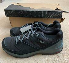 SALOMON Torridon GTX Walking Shoe in Black Urban Chic/Green Milieu Size 9 EUR 43