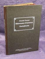 Hustedt Süsswasser- Diatomeen Deutschlands Ein Hilfsbuch, 10 Tafeln um 1923 js