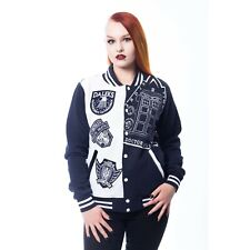 Heartless - DOCTOR WHO VILLIANS - Womens Varsity Jacket - Official DR Who Merch