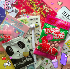 KAWAII LOT - Japanese & Korean Snacks Pokemon Candy Stickers Stationery Molang