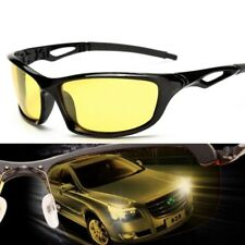 Driving Polarized Sunglasses Night Vision Glasses Headlight Yellow Lens Uv400