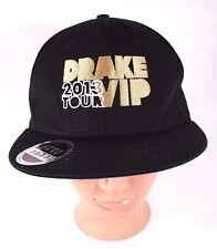 Drake 2013 Would You Like a Tour VIP Hat Black Gold OTTO Snapback OVO Hip Hop