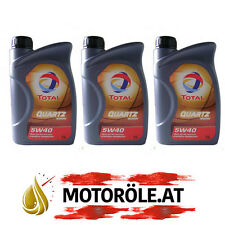 3x1 LITER Total Quartz 9000 ENERGY 5W-40 Motoröl MB 229.1 229.3 229.5