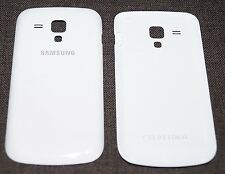 ORIGINALE Samsung gt-s7562 GALAXY S DUOS COVER POSTERIORE, Battery Cover, Bianco White
