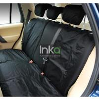 Range Rover Sport L494 Rear Inka Tailored Waterproof Seat Covers Black MK2