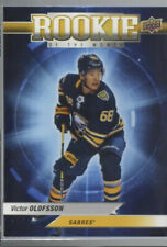 2019-20 UD Game Dated Moments VICTOR OLOFSSON Sabres October ROOKIE OF MONTH R-1