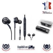 Écouteurs Kit Main Libres AKG Samsung et Autres Modèle Smartphone Blanc et Noir