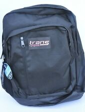 Trans Jansport  MegaHertz II Digital computer laptop Backpack Black New